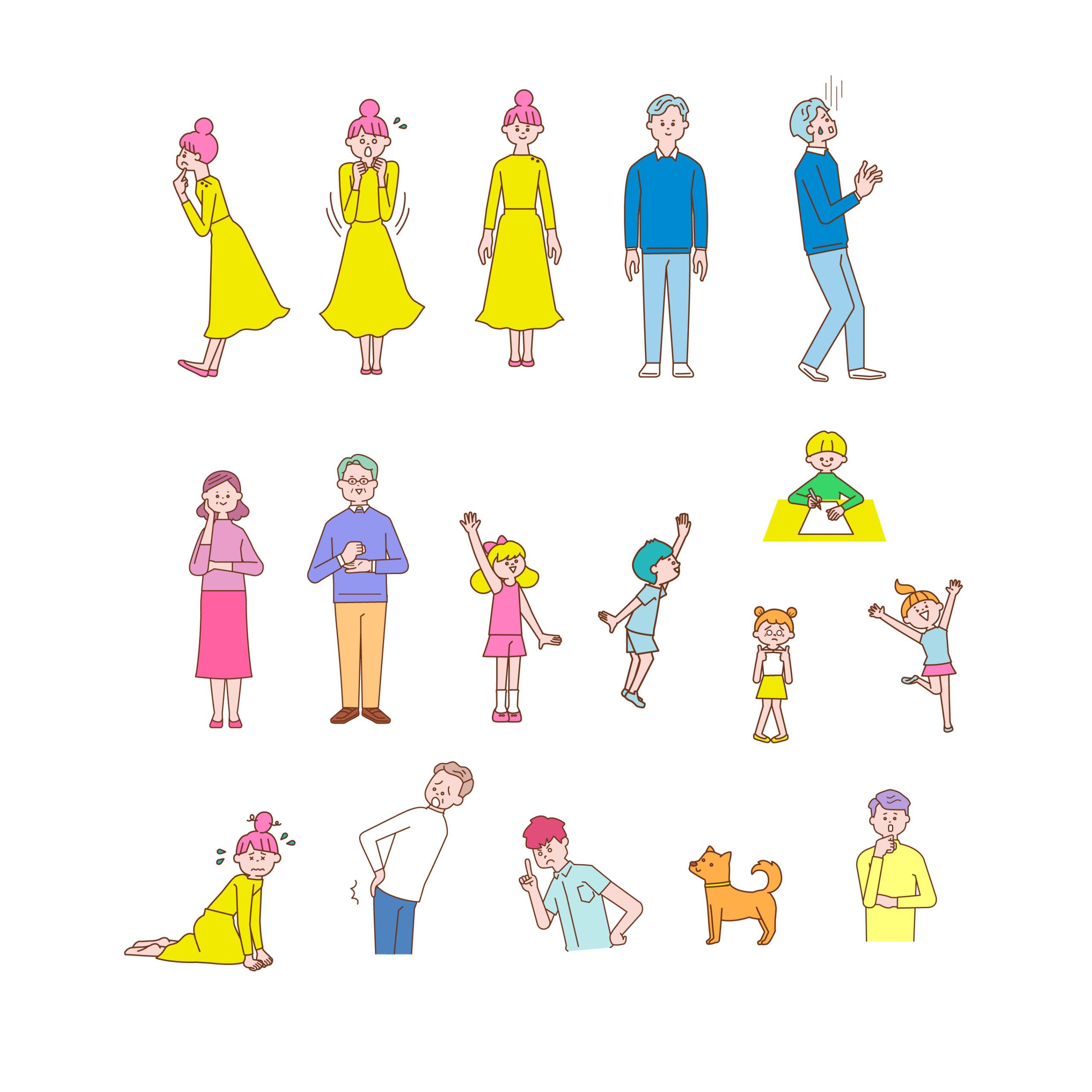 かわいい系人物イラスト(illust19)