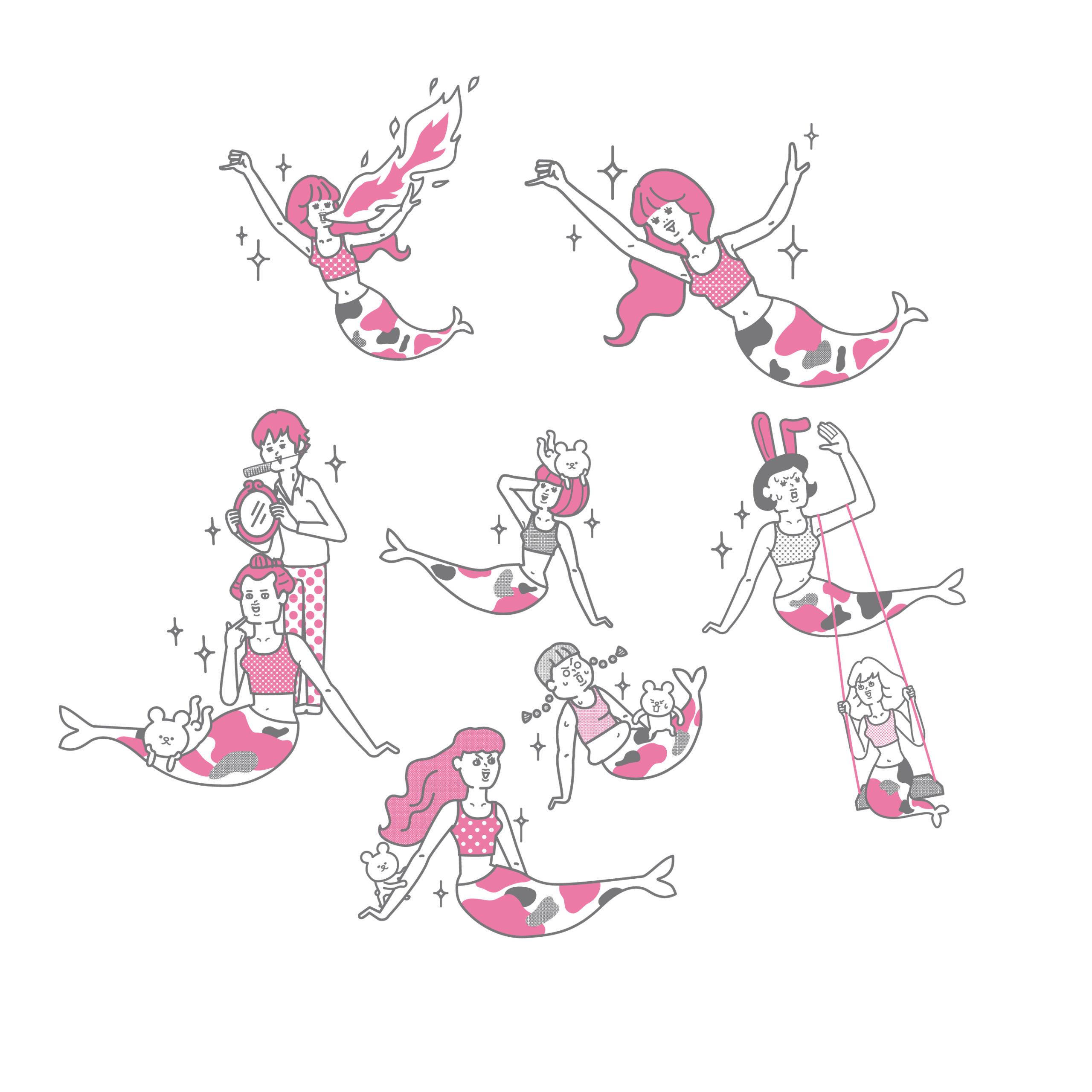 おもしろ・かわいい系イラスト(illust15)